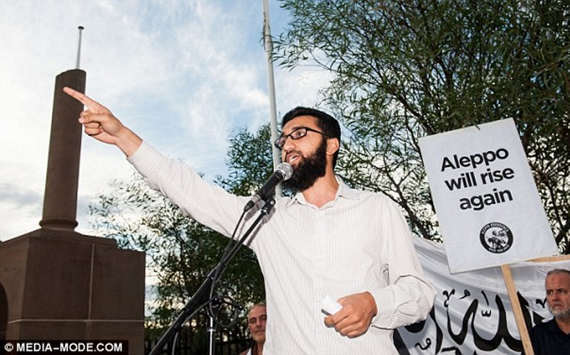 Days after the carnage in London, this is the moment we catch a firebrand Islamist leader on camera saying all former Muslims should be put to DEATH... in Sydney on Saturday night