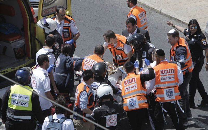 British Woman Stabbed to Death in Jerusalem Tram Attack