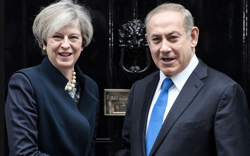 Palestinians threaten to sue the British Government over the creation of Israel