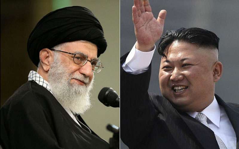 russia china north korea and iran relationship