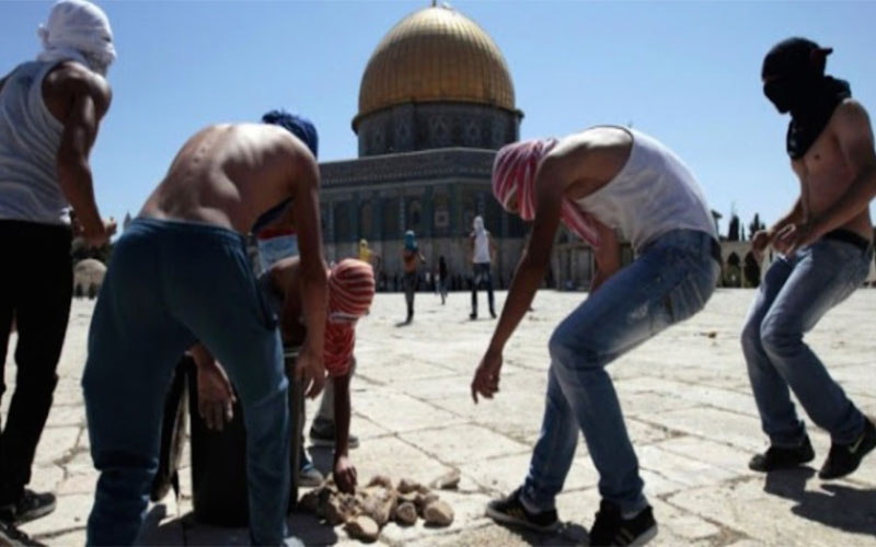Pickin' Up The Pieces On The Temple Mount
