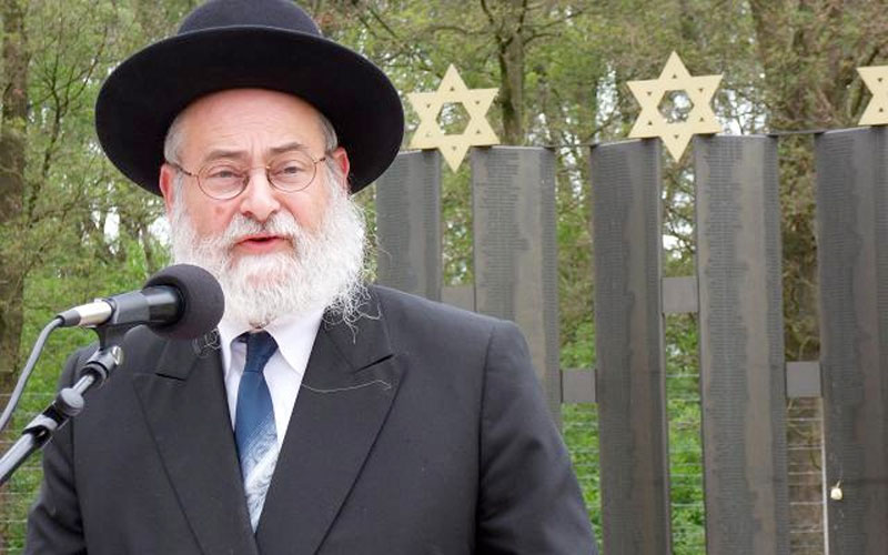 Holland's Chief Rabbi: Being Called a Dirty Jew Is Normal These Days