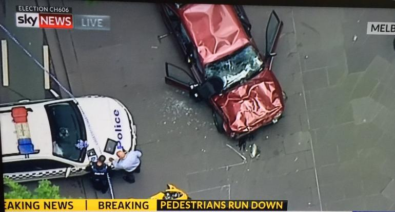 Terror Attack in Australia? Driver Plows Vehicle into Pedestrians in Melbourne
