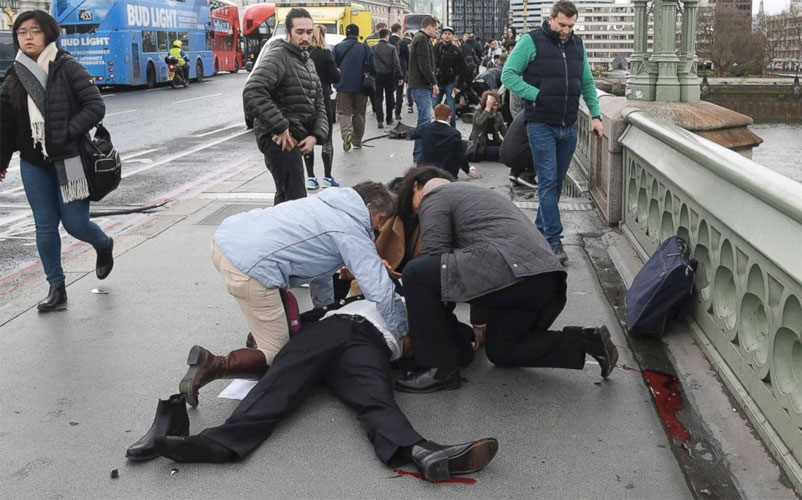 Yet more Islamic terrorism, this time in London