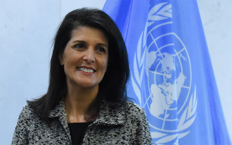 Haley: Western Wall Part Of Israel, US Embassy Should Move To Jerusalem