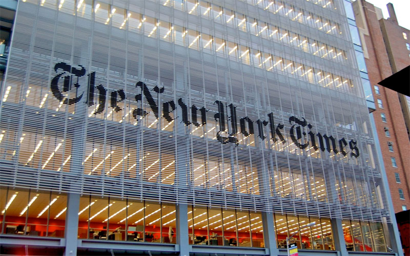 New York Times Blames the Jews for Donald Trump