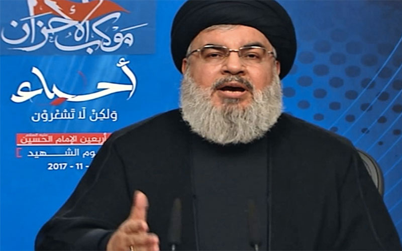 Hezbollah leader: Saudi Arabia has 'declared war' on Lebanon