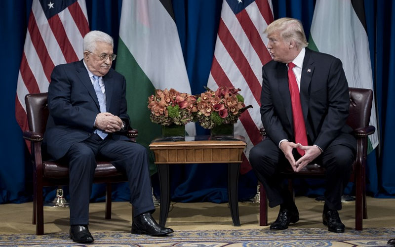 Palestinians warn of violence if Trump recognizes Jerusalem as Israel's capital