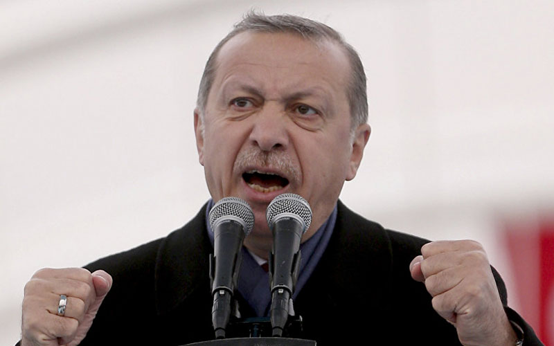 Erdogan Invokes Islamic Text Sanctioning Killing Jews at Party Convention
