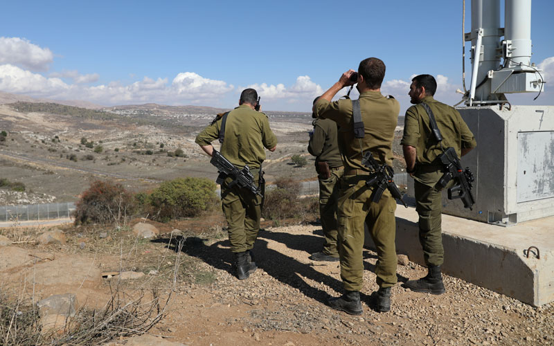 Syrian, Iranian Backed Forces Advance In Border Area Near Northern Israel