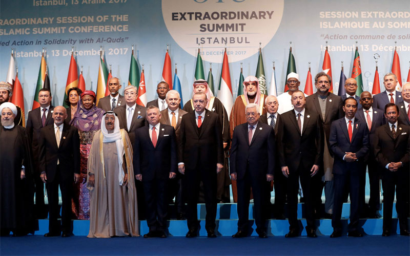 57 Muslim nations reject US recognition and declare East Jerusalem the Palestinian capital