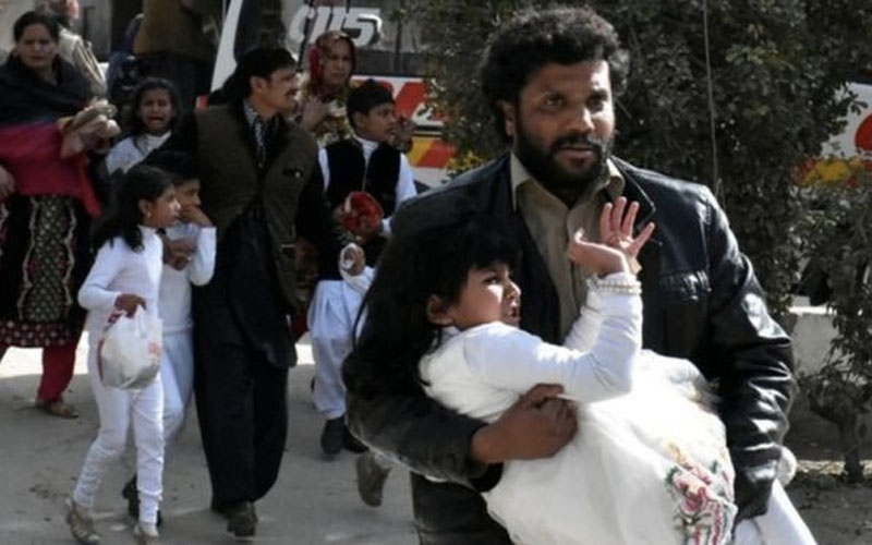 Deadly bombing and shooting attack on Methodist church in Pakistan
