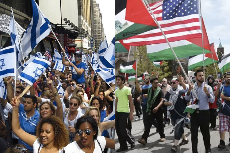 POLL: Huge Republican Majority Favors Israel Over Palestinians, Democrats Support Has Plunged